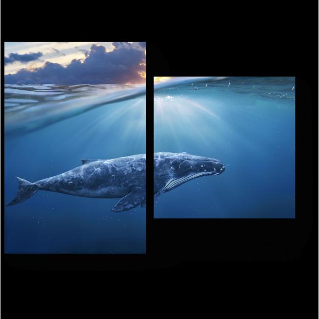 Модульная картина Между небом и водой