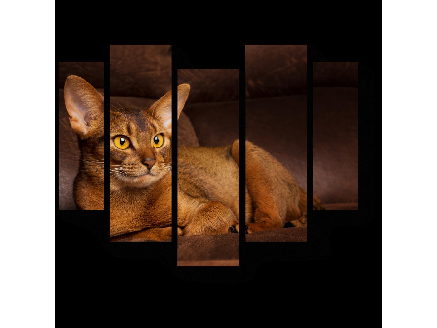 Модульная картина Охотник отдыхает (101x82) фото