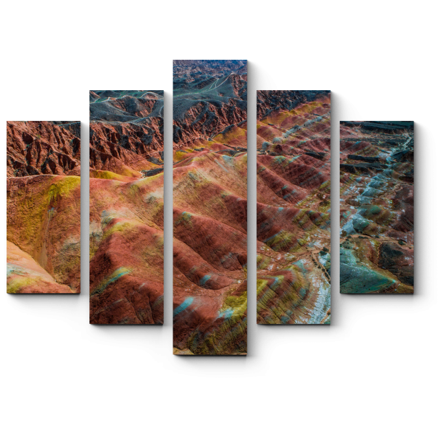 Модульная картина Фантастический пейзаж