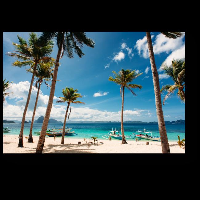 Модульная картина Райский пляж Эль Нидо