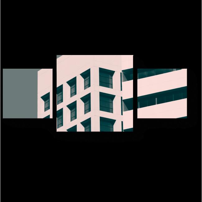 Модульная картина Минималистичный фасад