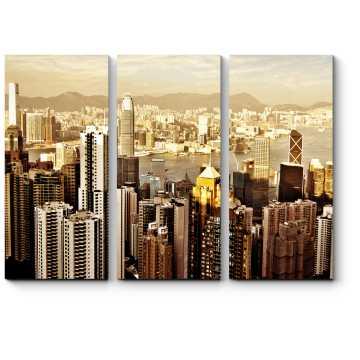 Небоскребы солнечного Гонконга