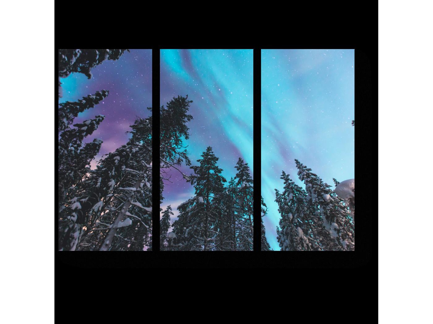 Модульная картина Посмотри, какое небо (60x43) фото