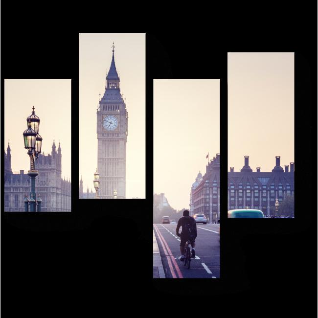 Биг-Бен на закате, Лондон