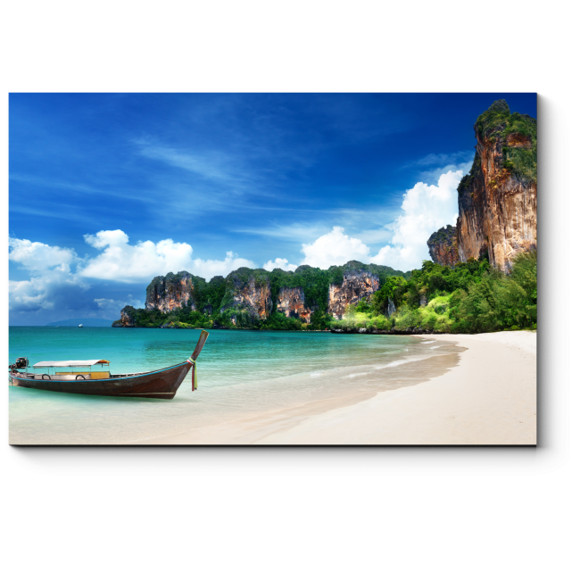 Модульная картина Райский пляж