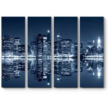 Манхэттен ночью, Нью-Йорк