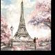 Город любви весной, Париж