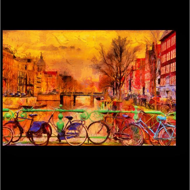 Амстердам глазами импрессионистов