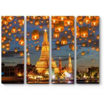Волшебные небесные фонарики, Бангкок