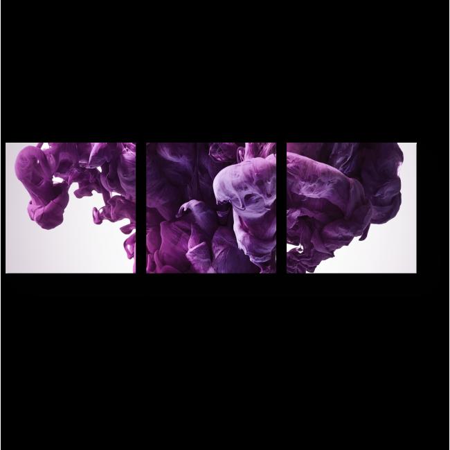 Модульная картина Сиреневая феерия