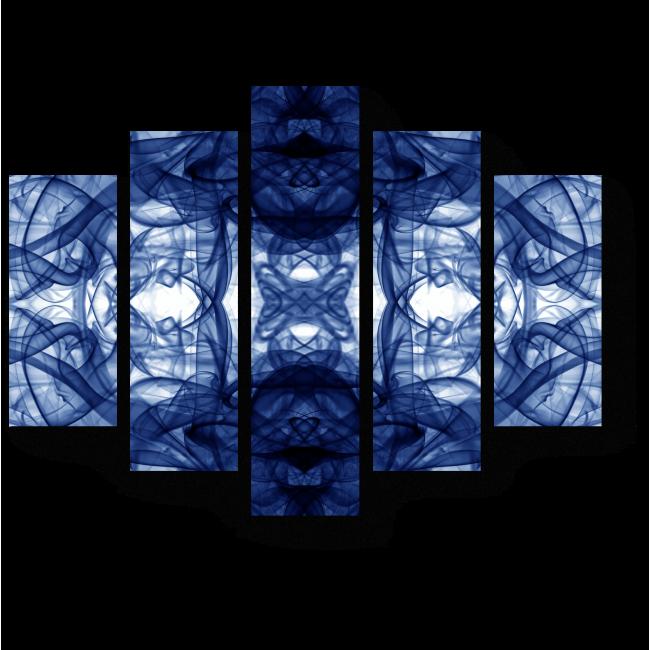 Модульная картина Дым над водой