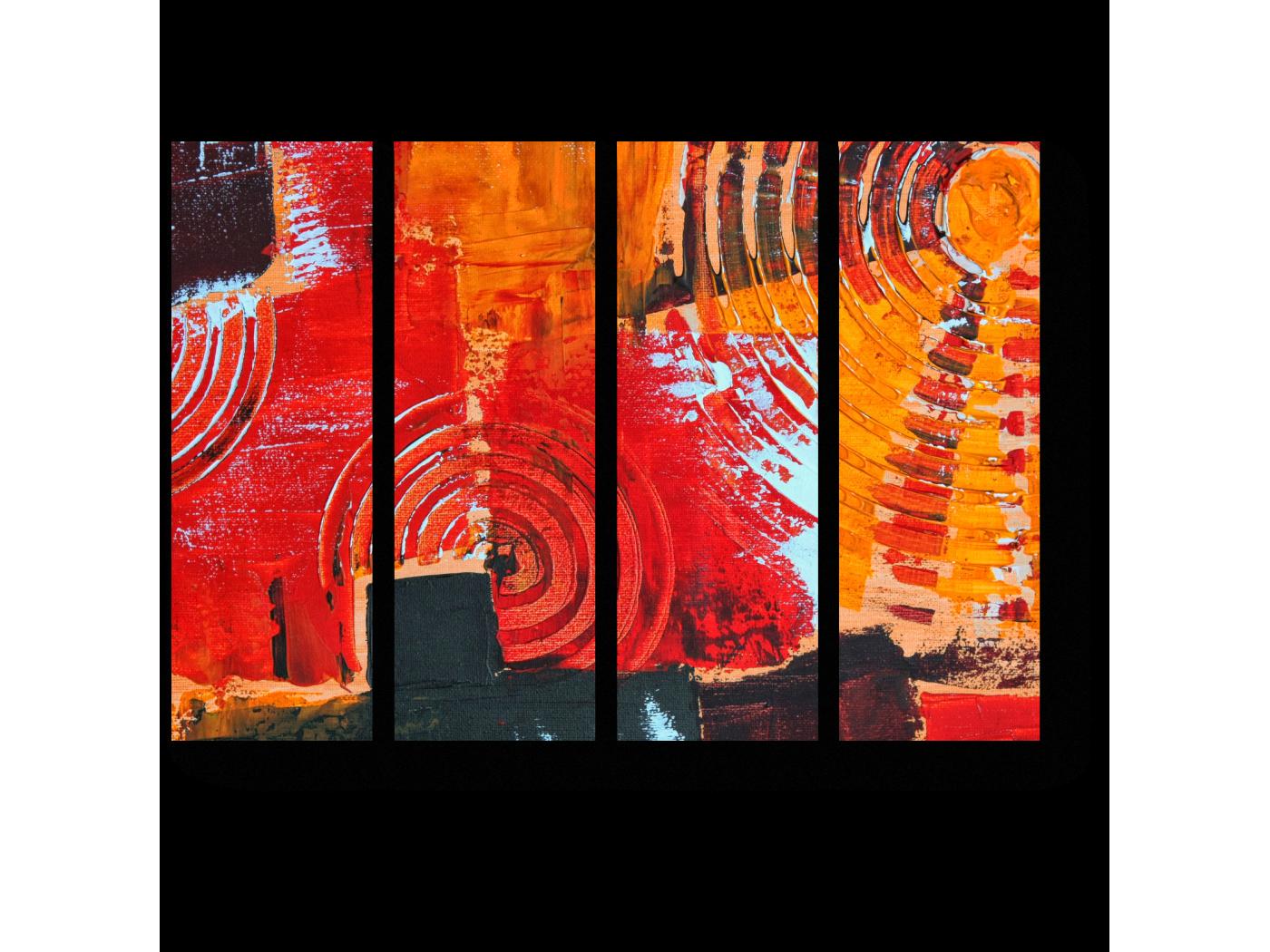 Модульная картина Ветряные мельницы (60x45) фото