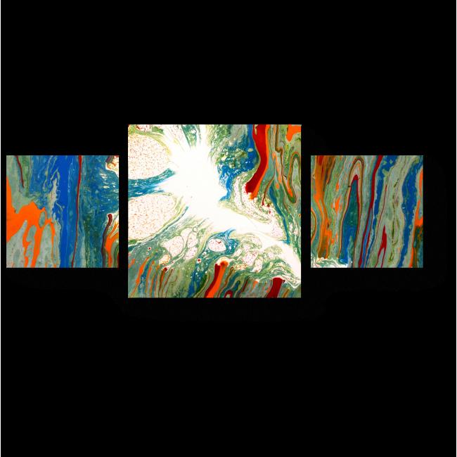 Модульная картина Феерия цвета