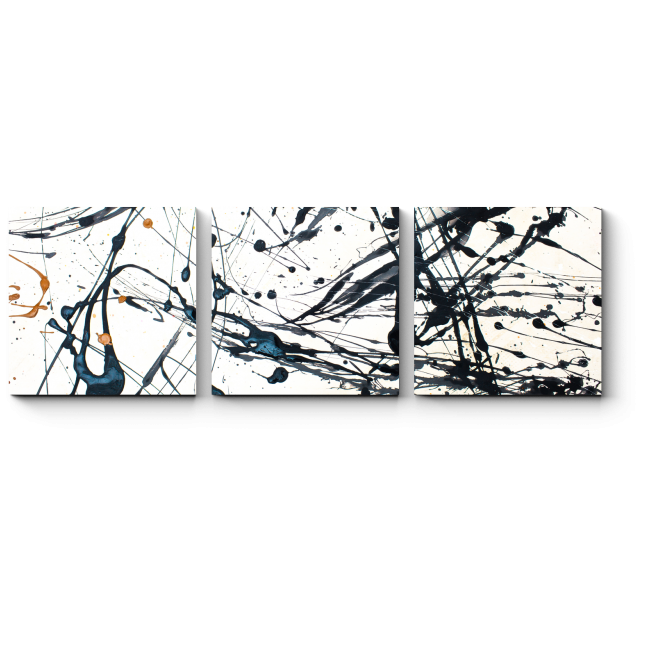 Модульная картина Черное и белое