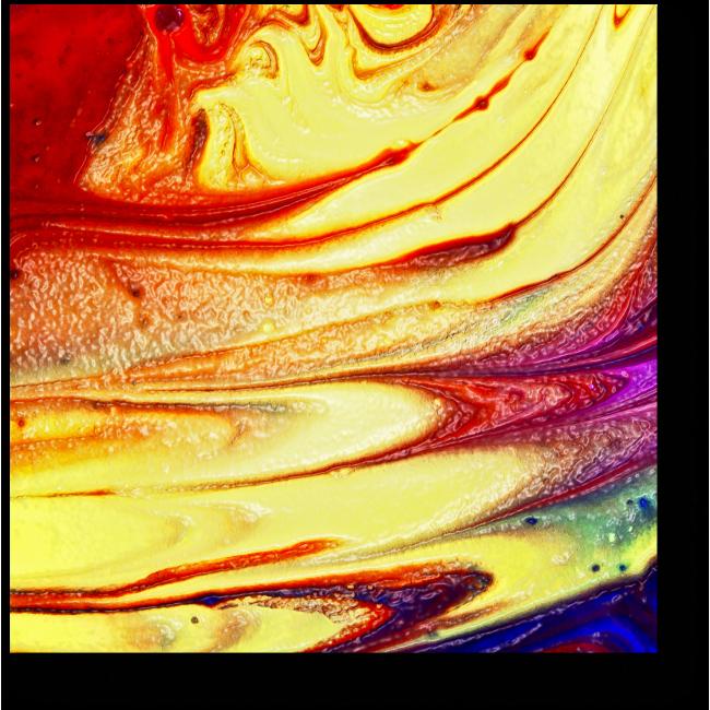 Модульная картина Сияние цвета