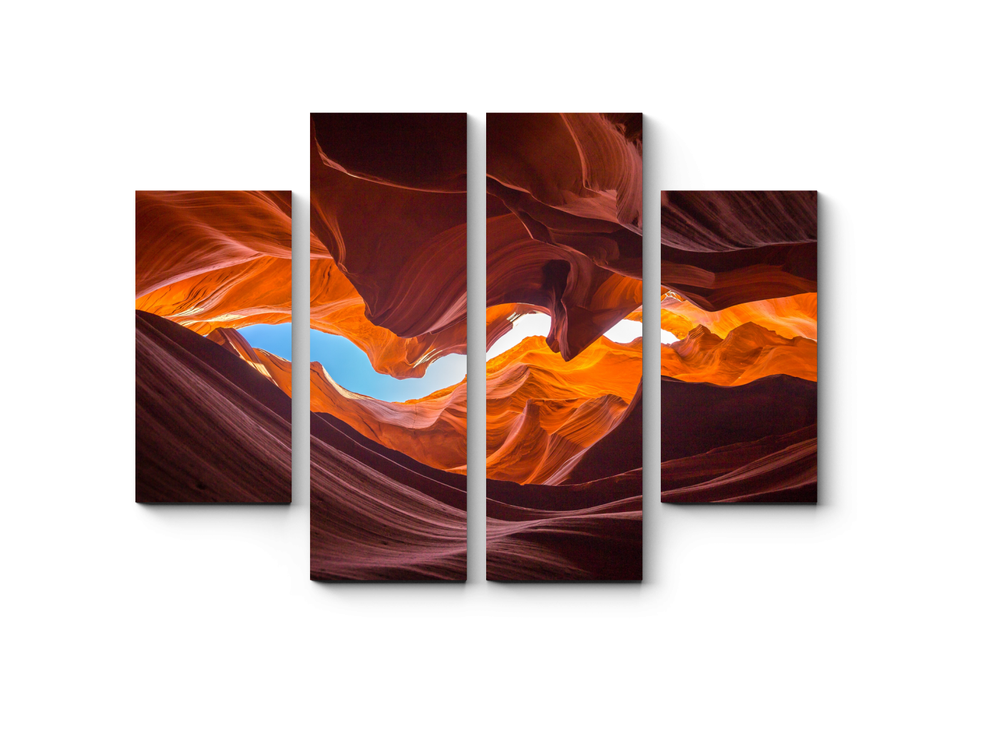 Модульная картина Искусство природы (80x60) фото