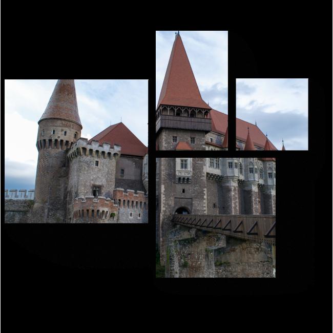 Модульная картина Корвин замок в Румынии