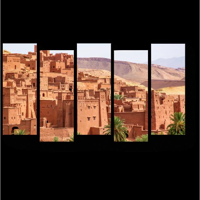 Модульная картина Айт Бенхадду