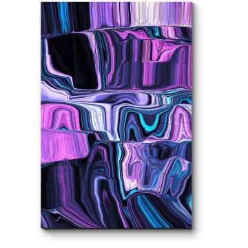 Модульная картина Цветной мрамор