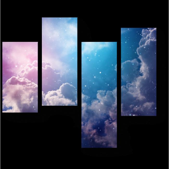 Модульная картина Летнее небо