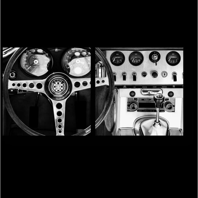 Модульная картина За рулем