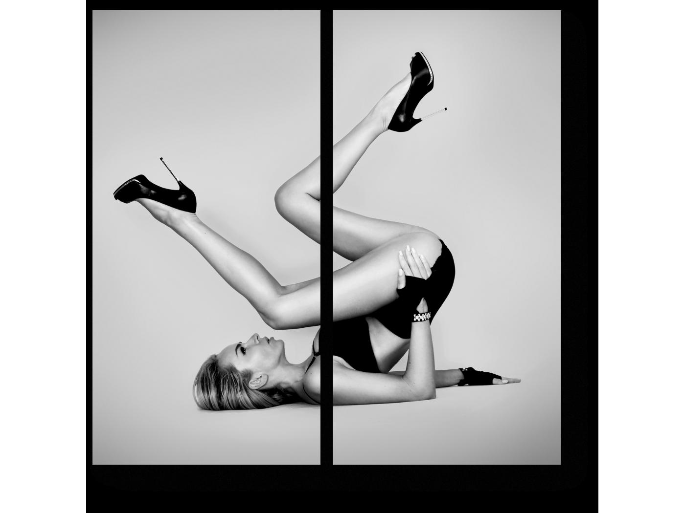 Модульная картина Веселая гимнастика (40x40) фото
