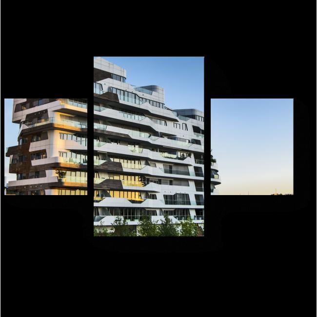 Модульная картина Архитектура Италии