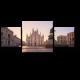 Соборная площадь в лучах света, Милан