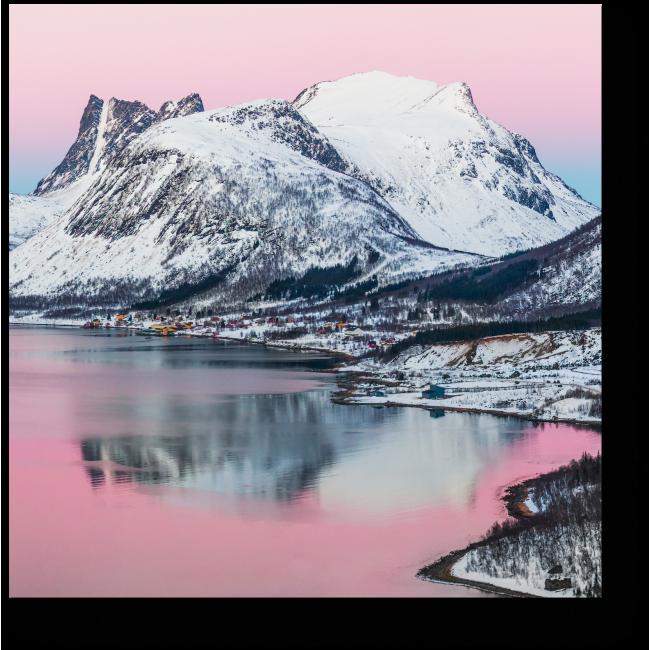 Модульная картина Красоты северной природы