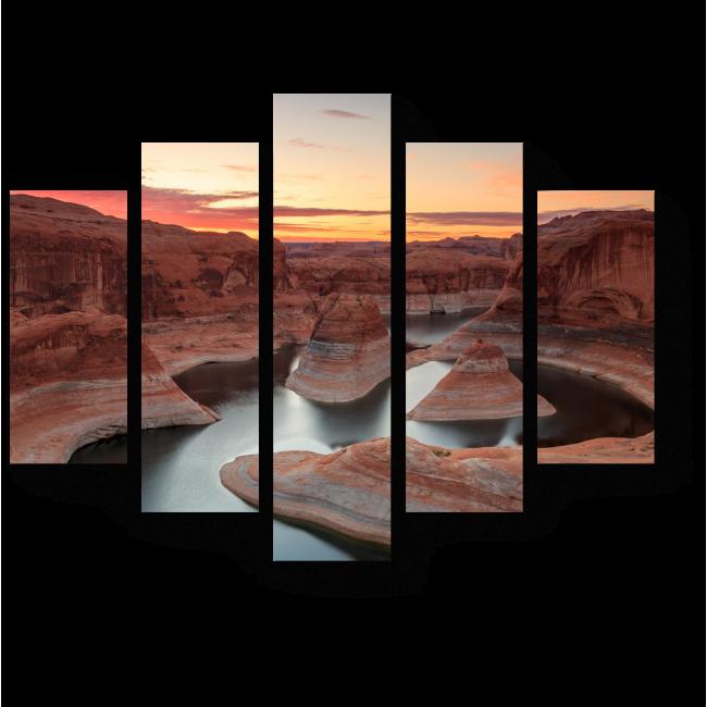Модульная картина Озеро Пауэлл в Аризоне