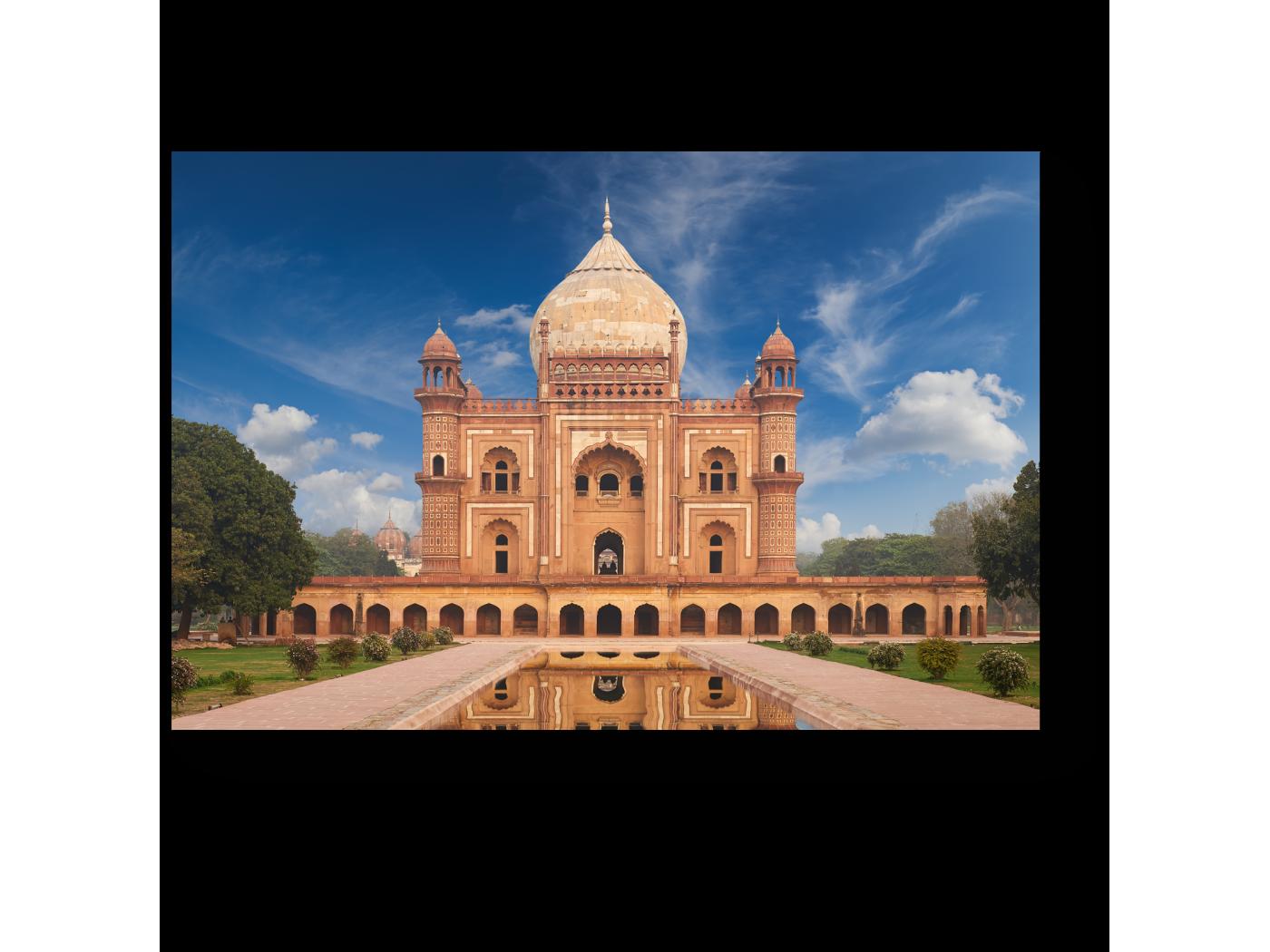 Модульная картина Могила Хумаюн, Нью-Дели (30x20) фото