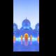 Большая мечеть шейха Заида в сумерках
