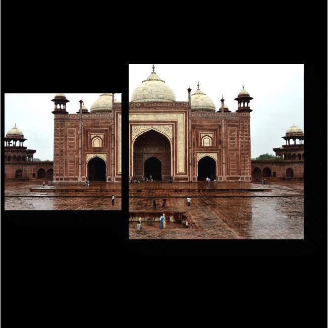 Модульная картина Тадж-Махал. Исламская архитектура