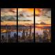 Рассвет над бухтой Виктория, Гонконг