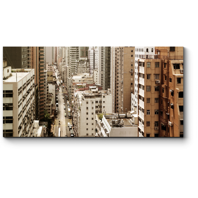 Модульная картина Центр исторического Гонконга