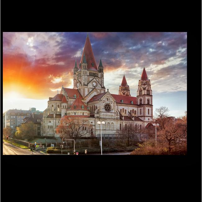 Модульная картина Церковь Святого Франциска, Вена