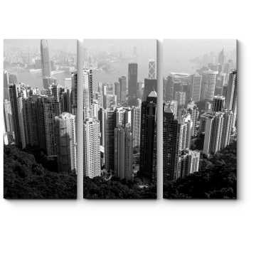 Монохромный Гонконг