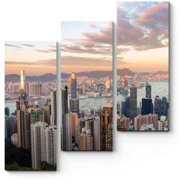 Самый узнаваемый вид на Гонконг