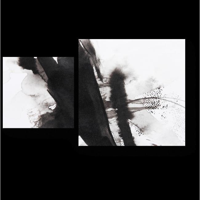 Модульная картина Взмахи кисти