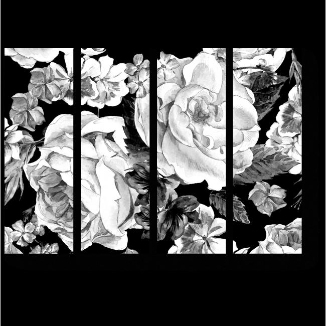 Модульная картина Розы прекрасны всегда