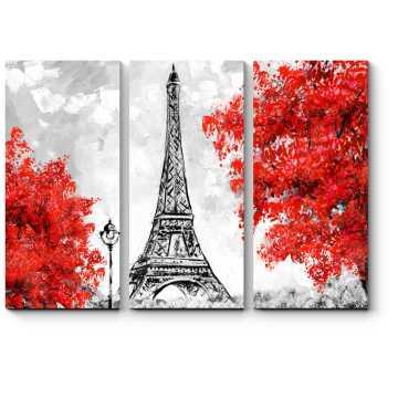 Краски осени в Париже