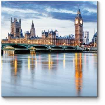 Таинственный Лондон в сумерках
