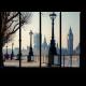 На набережной Темзы, Лондон