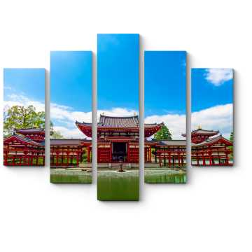 Модульная картина Храм Биодо, Киото