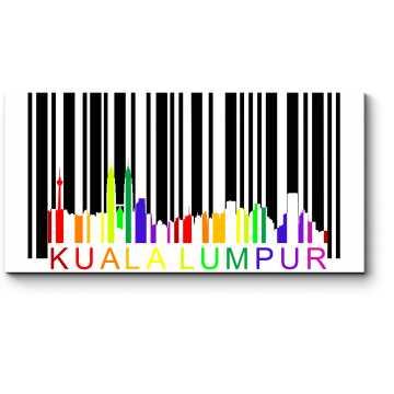 Силуэт Каула-Лумпур