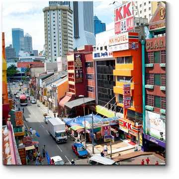 Торговый район Куала-Лумпур