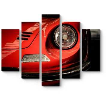 Фронтальные детали Ferrari