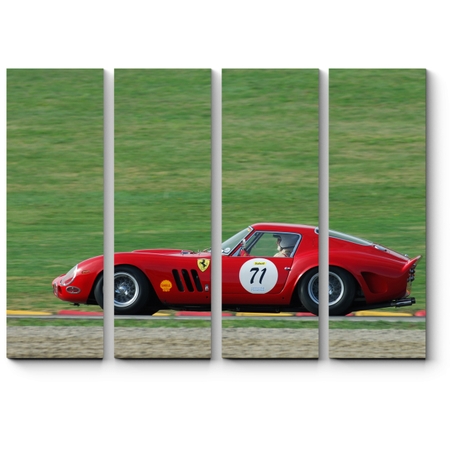 Модульная картина Финалист Mondiali Ferrari f2007