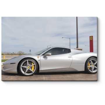 Модульная картина спортивный Ferrari.