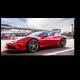 Красный Ferrari 458